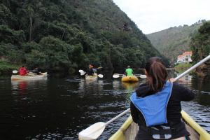 Kayaking down Kaaimans River, 2014
